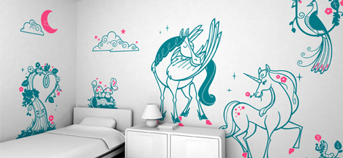 In the Moonlight - Wall Stickers