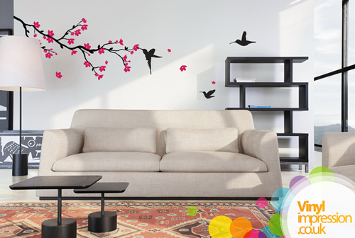 Cherry Blossom - Wall Stickers