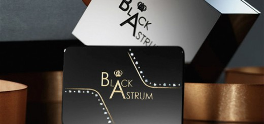 Black Astrum Business Card Design