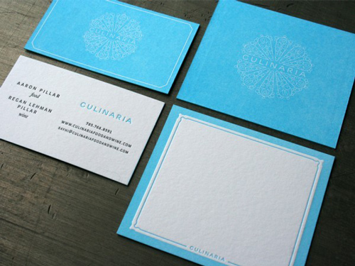 Double-Sided Business Cards Design