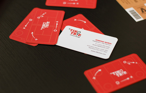 Tiko Trip - Double-Sided Business Card