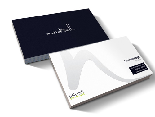 Nanometh Brand - Business Cards Design