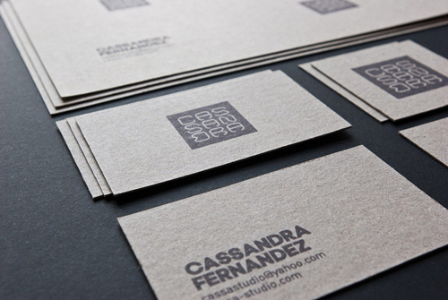 Cassa Studio Double-Sided Business Card