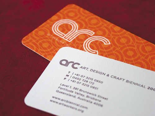 Arc Biennial Business Card