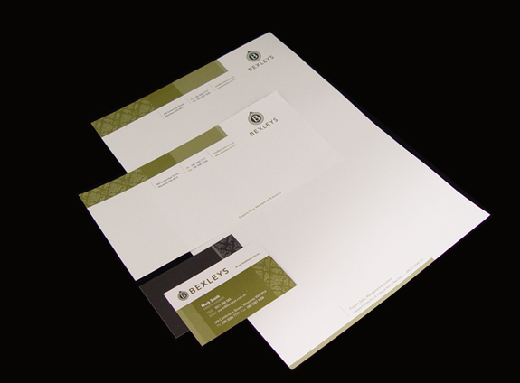 Bexleys - Letterhead Design Inspiration