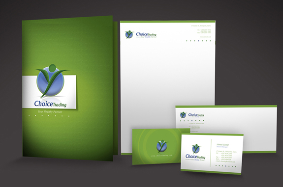 Choice - Letterhead Design Inspiration