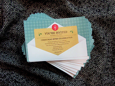 You're Invited - Postcard Design