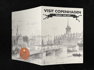 Copenhagen Small - Postcard Design