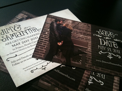 Save the Dates - Postcard Design