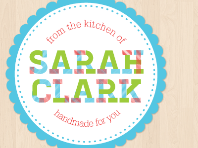 Kitchen Sticker Design