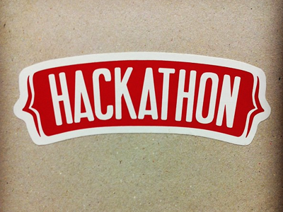 Hackathon Sticker Design