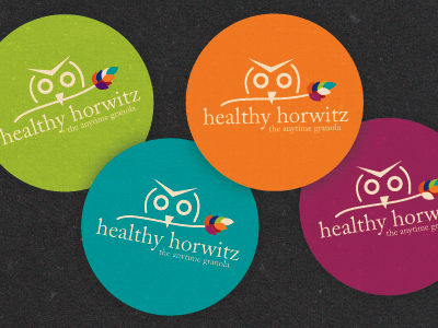 Healthy Horwitz Stickers