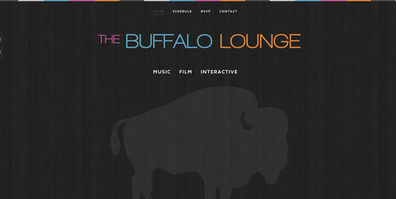 The Buffalo Lounge - Wide Website Design