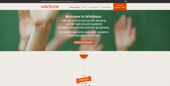 Wishbone - Wide Website Design
