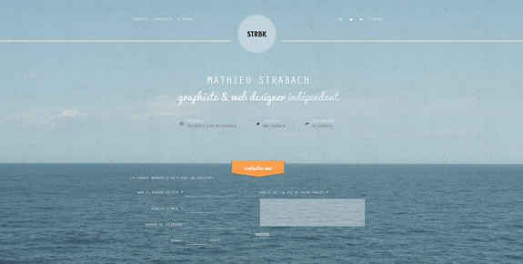 STRBK - Wide Website Design