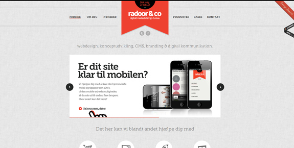 Radoor - Wide Website Design