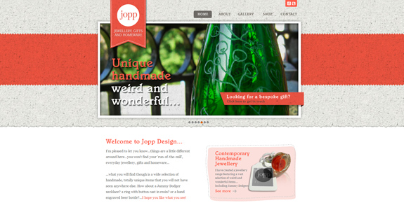 Jopp - Wide Website Design