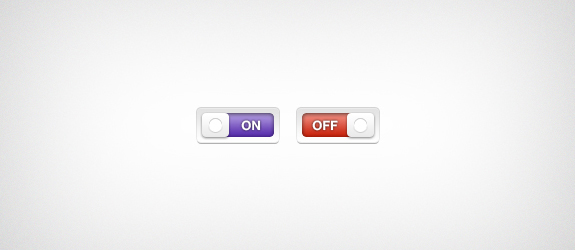 Toggle Switches PSD