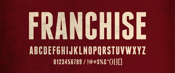 Franchise - Free Fonts