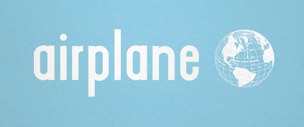 Airplane - Free Fonts