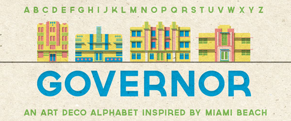 Governor - Free Fonts