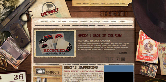 Textured Backgrounds in Web Design
