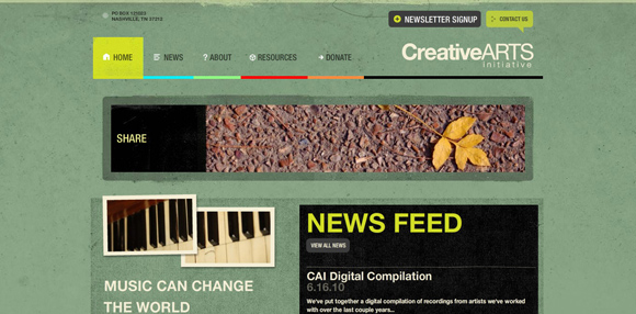 Background Textures in Web Design