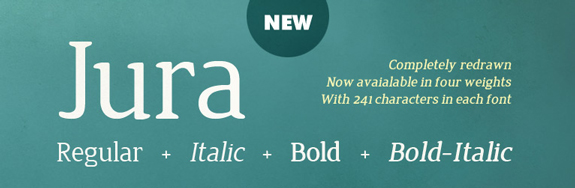 Cool New Free Fonts