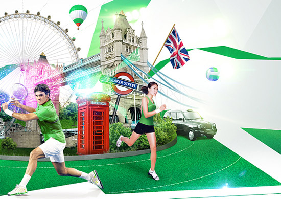 London Olympics 2012 Artwork 5