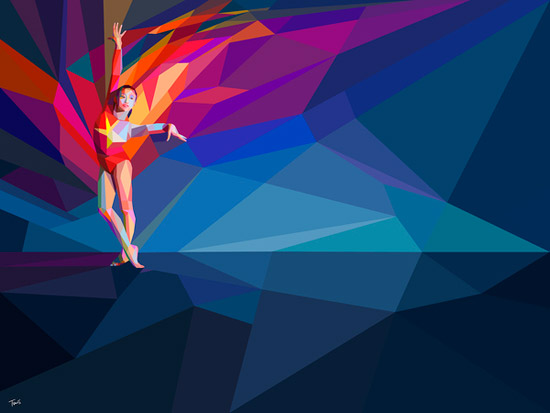 London Olympics 2012 Artwork 30