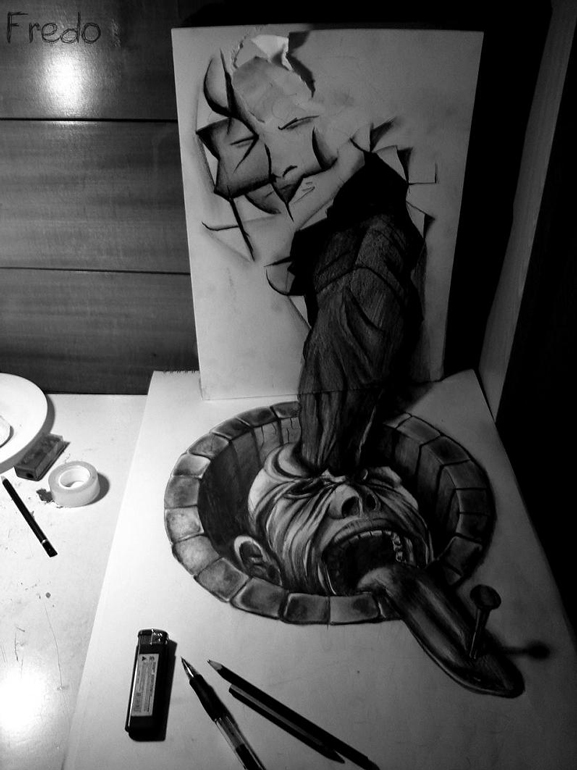 Amazing Examples of 3d Drawings