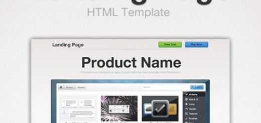 FREE: Landing Page HTML Template