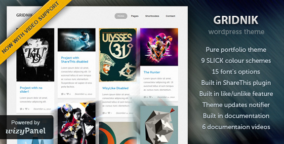 WordPress Pinterest Theme