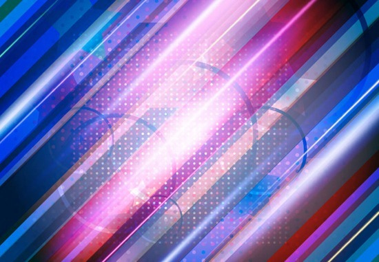 Abstract Colorful Lights Background Vector