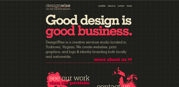 Dark Website Designs