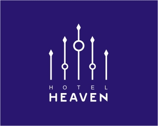 hotel logos design 17 50 Cafe and Hotel Logos Design