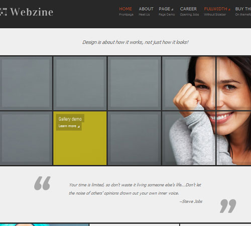 15 Webzine 20+ Responsive Magazine WordPress Themes