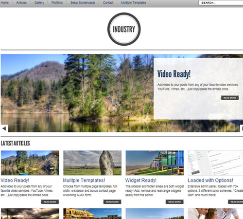 19 Industry 20+ Responsive Magazine WordPress Themes