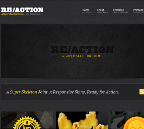 2 Reaction 20+ Responsive Magazine WordPress Themes