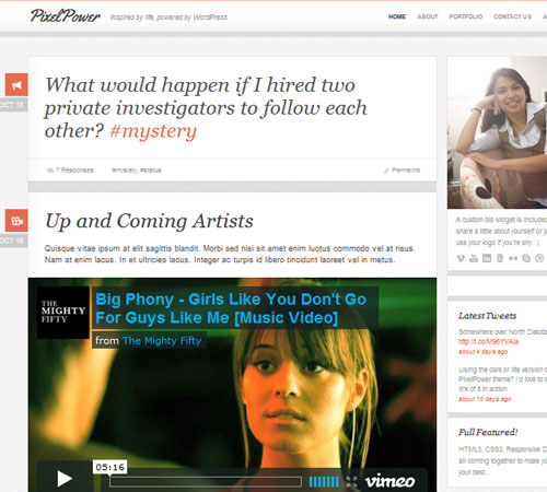 4 PixelPower 20+ Responsive Magazine WordPress Themes