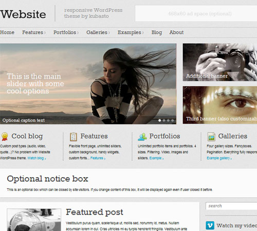 6 Website 20+ Responsive Magazine WordPress Themes