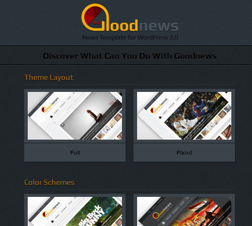 8 Goodnews 20+ Responsive Magazine WordPress Themes