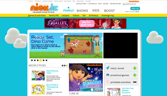 Tips for Designing a Child-Friendly Site