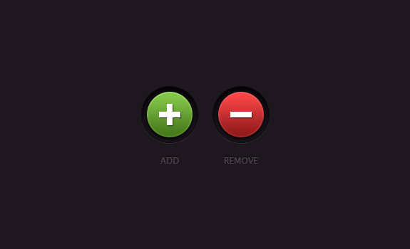 Free Web Buttons PSD