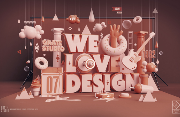 typography design 23 Beautiful Examples of Typography Design
