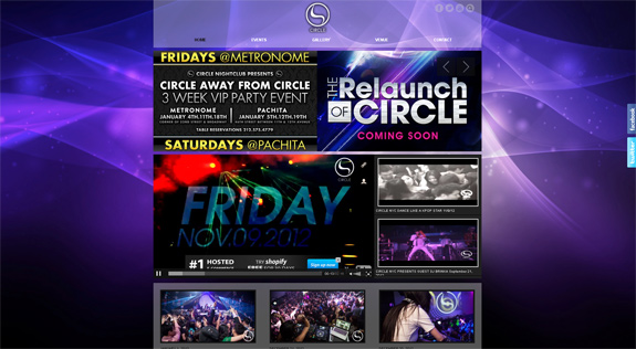 Night Club Website