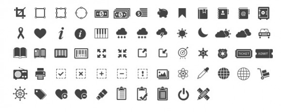 free-glyph-icons