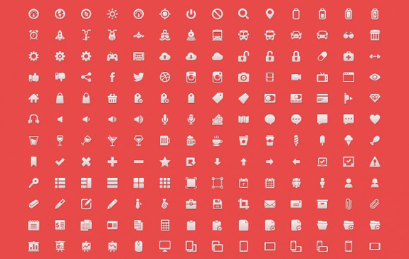 free-handcrafted-icons-set
