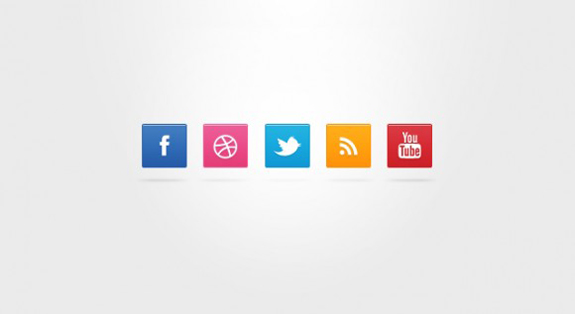 free-simple-social-icons-set