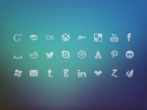 social-networks-icons-set